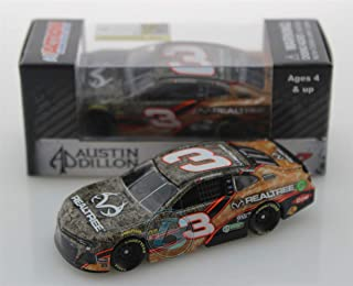 Lionel Racing, Austin Dillon, Realtree, 2019, Chevrolet Camaro, NASCAR Diecast 1: 64 Scale