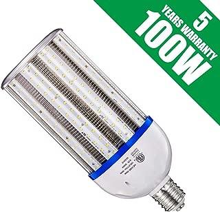 RUIXU 100W LED Corn Light Bulb, E39 Mogul Base Corn LED Bulbs, 5000K Daylight 13500LM, 400-600 Watt Equivalent, CFL HPS Metal Halide Lamp Replacement for Garage Warehouse Outdoor Street Area Lighting