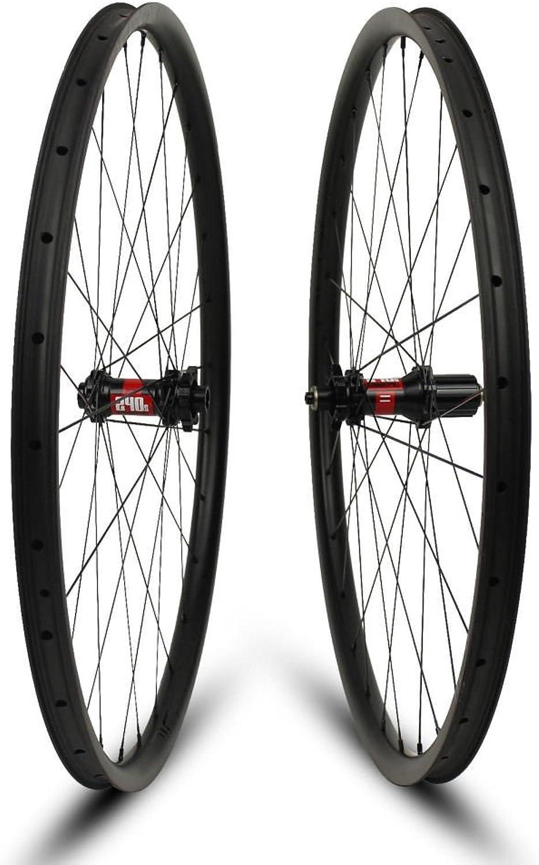 29ER Carbon Mountain Bike wheelset for 27.5er AM XC 35mm Width Dt Swiss 240s MTB Wheel