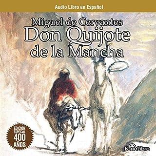 Don Quijote de la Mancha [Don Quixote] audiobook cover art