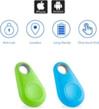 $20 » Key Finder, Bluetooth Tracker Phone Finder with Item Anti-Lost Locator Bidirectional Alarm Reminder for Phone, Keychain, W...
