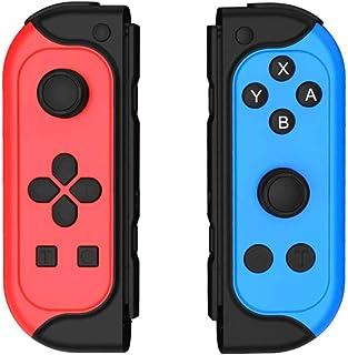 Mando Inalámbrico para Switch, Mandos Switch Wireless Bluetooth Controlador Gamepad Joystick de Repuesto con Función de Tu...