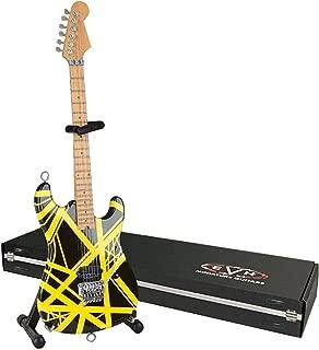 EVH Minature Guitars EVH Black & Yellow Mini Replica Guitar Van Halen (EVH002)