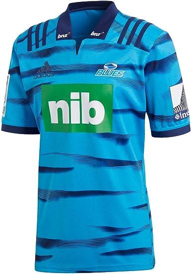 adidas Blues 2018 Mens Home Replica Super Rugby Jersey Shirt Blue
