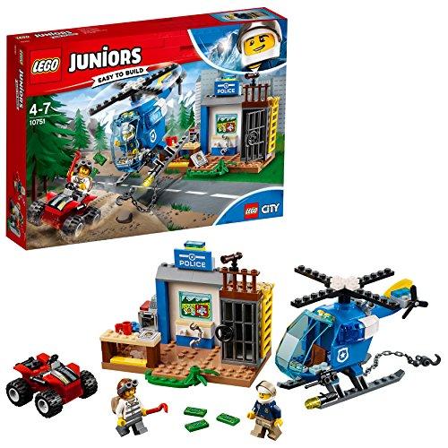 Lego Juniors 10751 Gebirgspolizei Auf Verfolgungsjagd, Bunt
