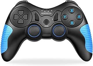 2019最新版 スイッチ コントローラー switch 無線 任天堂switch対応 Bluetooth接続 BEBONCOOL対応 Nintendo Switch対応 コントローラー プロコン ジャイロ搭載 プロコントローラー switch ブルー