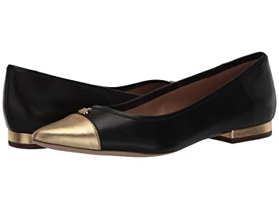 LAUREN Ralph Lauren Halena (Black/Gold Rush) Women