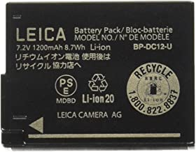 Leica 18729 Lithium-Ion Battery BP-DC 12 U - Black