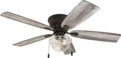 Prominence Home 51174-01 Lenore Ceiling Fan, 52, Bronze