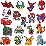 18pcs Parches Ropa Termoadhesivos Spiderman Parches Ropa Niños Termoadhesivos DIY Coser o Planchar En Los Parches Apliques Para Ropa Camiseta Jeans Sombrero Pantalon Bolsas