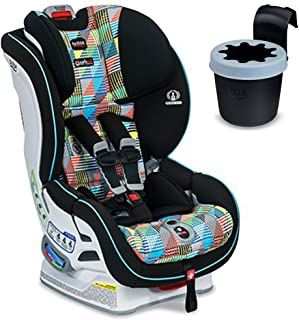 Britax Boulevard ClickTight Convertible Car Seat with Black Cup Holder, Vector
