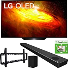 $3093 » LG OLED65BXPUA 65-inch BX 4K Smart OLED TV with AI ThinQ (2020) Bundle SN10YG 5.1.2 ch High Res Audio Sound Bar + TaskRabbit Installation Services + Vivitar Low Profile Flat TV Wall Mount