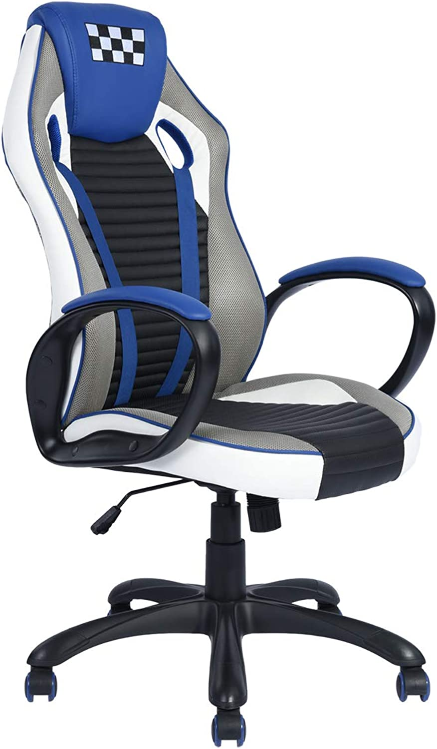 Ergonomic High Back Gaming Chair, bluee