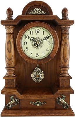 Reloj LWF Mesa de Mesa Sala de Estar Decoración Dormitorio ...