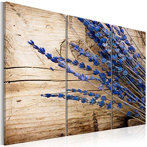 murando - Cuadro 120x80 - impresión de 3 Piezas en Material Tejido no Tejido impresión artística fotografía Imagen gráfica - decoración de Pared Flores 030210-132