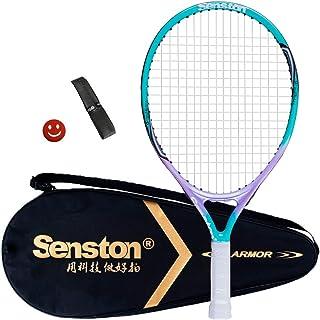 comprar comparacion Senston Raqueta de Tenis para Niños/Juventud,One-Piece-Desgin Raqueta Tenis,Incluido 1 Bolsa de Tenis / 1 Grip / 1 Amortig...