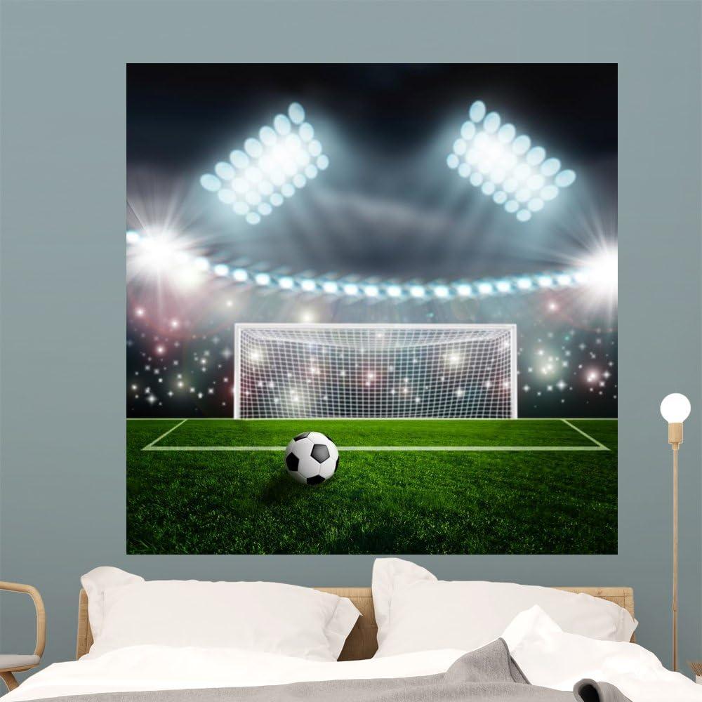 EXTRA LARGE Watford FC Stadium Pitch Football Vinyl Wall Sticker Poster