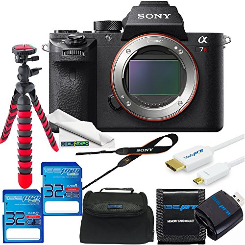 Lowest Price! Sony Alpha a7R II Mirrorless Digital Camera (Body Only) - Deal-Expo Bundle