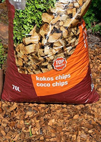 agricon Kokos Chips Decor 10-30 mm 70 Liter Sack