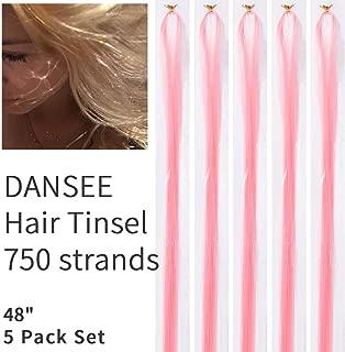Best hair extensions glitter strands Reviews
