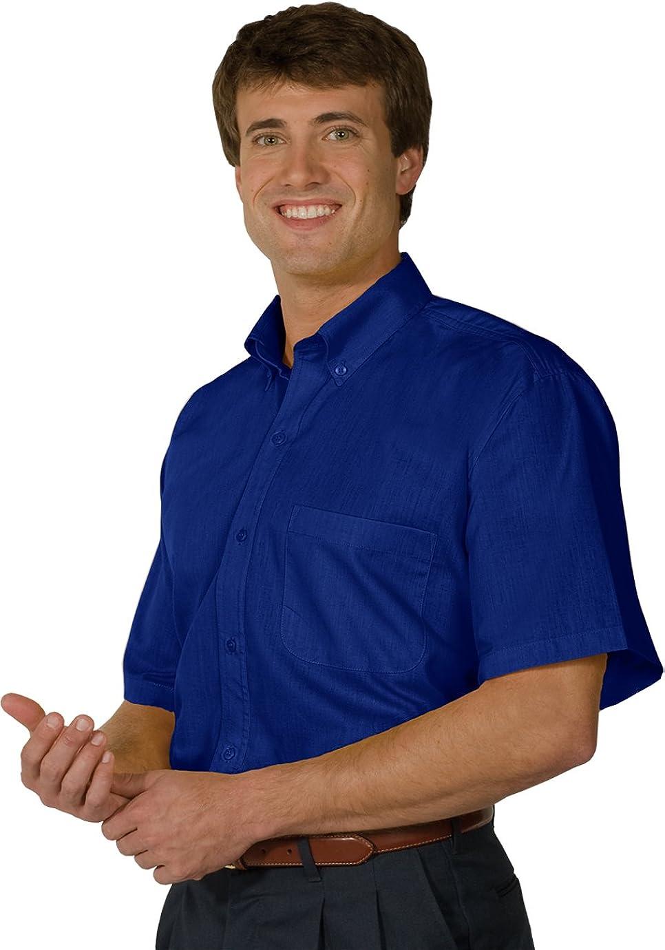 Ed Garments Men's 1245 Dress Shirts (Royal 5Xl T)