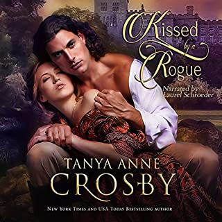 Kissed by a Rogue audiobook cover art