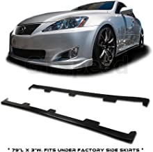 Best lexus is250 side skirts Reviews