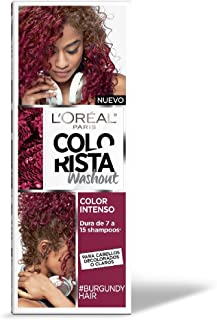 Tinte para cabello temporal color Burgundy Colorista L'Oréal Paris