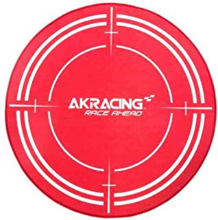 akracing ak-floormat-rd Red Polyester Surface Protection Protectors of Surfaces (1020mm; 140mm; 140mm)