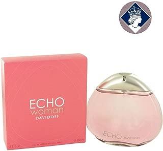 ECHO WOMAN by Davidoff EAU DE PARFUM SPRAY 3.4 OZ for WOMEN
