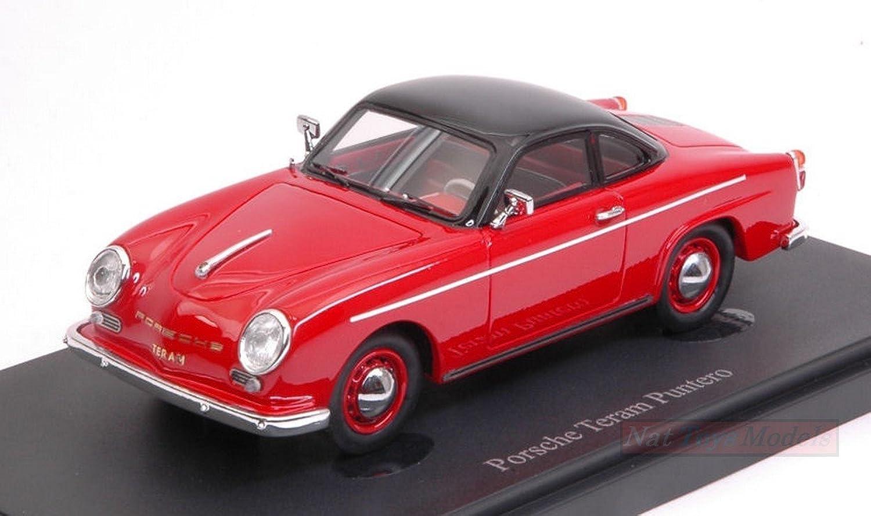 AUTOCULT ATC02014 PORSCHE TERAM PUNTERO 1958 rot schwarz 1 43 MODELLINO DIE CAST