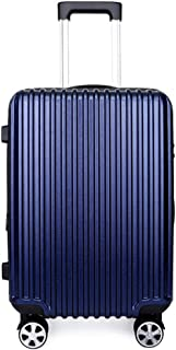 WHPSTZ Trolley Fashion Universal Wheeled Trolley Travel Essential Waterproof Light 20 Inch Boarding PC Trolley Luggage Trolley case (Color : Blue, Size : 28 inches)