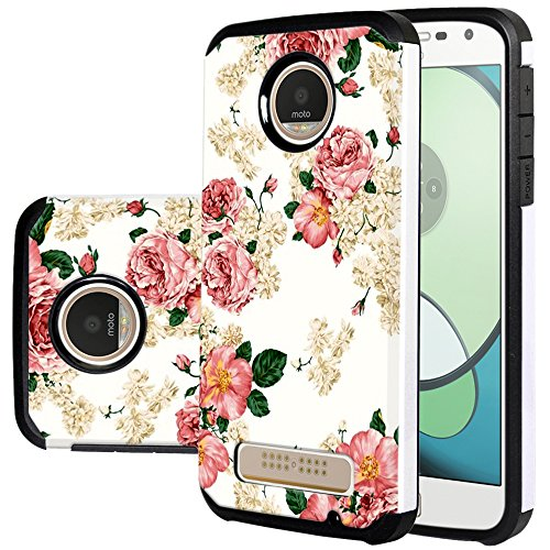 Harryshell Protective Case Cover for Motorola Moto Z Play Droid