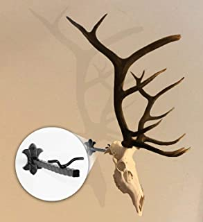 Bull Bracket European Skull Hanger Mount Kit - for Elk, Moose and Other Large Antlered Game - World's Strongest Skull Mount, Holds Well Over 100 Pounds - Available in Oil Rubbed Bronze - Made in USA