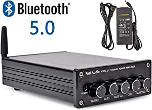 BT30C Bluetooth 5.0 Stereo Amplifier 2.1 Channel Class D Audio Power Receiver Amp with..