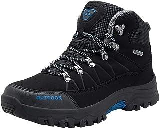 Chaussures d'hiver Homme Chaussures Trekking Bottes De Neige Étanche Outdoor Winter Boots