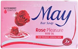Malaysia May Bar Soap 85g (Rose Pleasure, 9 Bar)