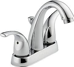 Peerless Tunbridge 2-Handle Centerset Bathroom Faucet with Pop-Up Drain Assembly, Chrome P299695LF