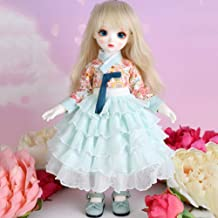 Children's Creative Toys BJD Doll Full Set 26inch 10inch Jointed Dolls+Wig+Skirt+Makeup+Shoes Surprise Gift Doll,A