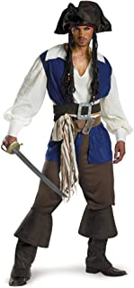 Disguise Men's Disney Pirates Deluxe Costume