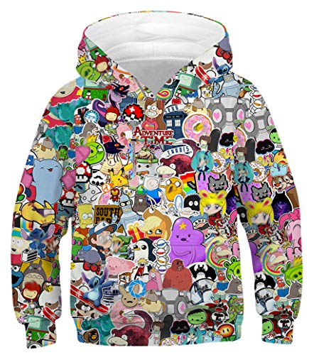 Azuki Anime Hoodie for Girls and Boys