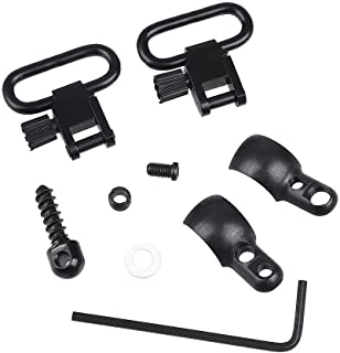 Oarea Lever Action Rifle Sling Mount Kit Split Band with 1'' QD 115 Sling Swivels for Winchester Marlin Mossberg