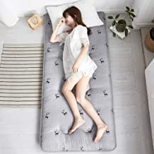 Futon Mattress, Breathable Comfortable Tatami Mattress, Foldable Single/Double Mattress Floor Mat for Bedroom, Office and ...