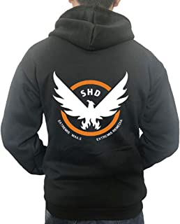 Kigcos Tom Clancy's Division Unisex Zip Hoodies Cosplay Costome