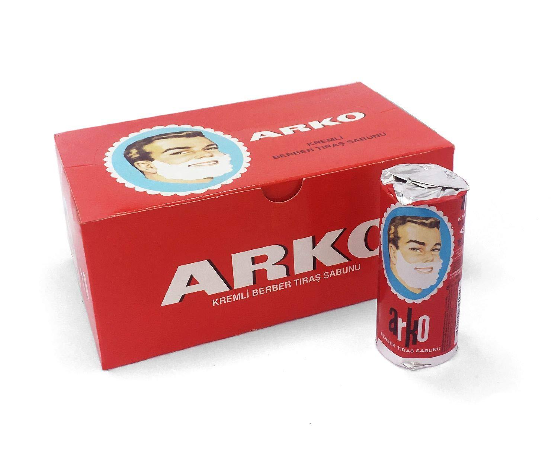 Arko Max 82% OFF Shaving Cream Soap Stick Pieces 12 - Max 82% OFF by EVYAP