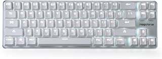 Mechanical Keyboard Gaming Keyboard GATERON Clear Switch Wired Backlit Mechanical Mini Design (60%) 68 Kyes Keyboard White Magicforce by Qisan