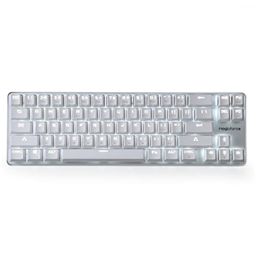 60b8f23ee3c71 Qisan Happy Deals 20% Off Mechanical Keyboard Gaming Keyboard GATERON Red  Switch Wired Backlit Mechanical