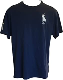 Polo Ralph Lauren Mens Crew Neck Big Pony T-Shirt