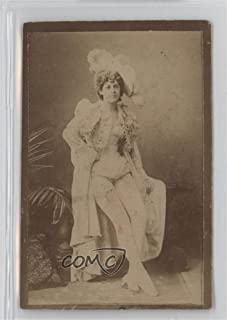 Unknown Actress (white leggings, legs crossed) (Trading Card) 1890 Duke's Actors and Actresses - Tobacco N150 - Honest Long Cut #NoN