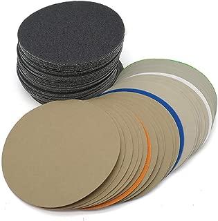 10PCS 6Inch 150MM Discos de lija a prueba de agua Gancho y bucle Discos de carburo de silicio 60 a 10000 Granos para pulido y pulido 600